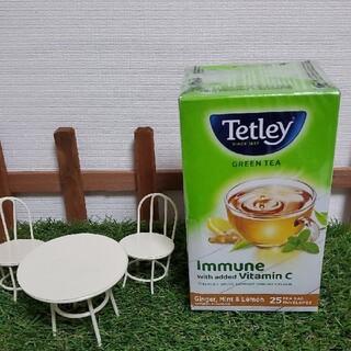 未開封♡ Tetley グリーンティー ジンジャー、ミント&レモン(茶)