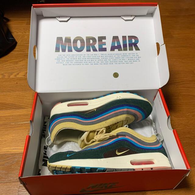NIKE(ナイキ)の【要確認】AIR MAX 1/97 VF SW SEAN WOTHERSPOON メンズの靴/シューズ(スニーカー)の商品写真