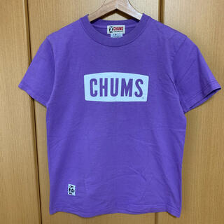 CHUMS - CHUMS Tシャツ パープル