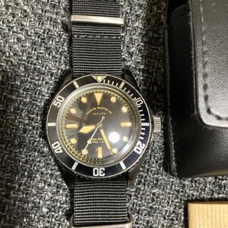 vague watch blk sub クオーツ