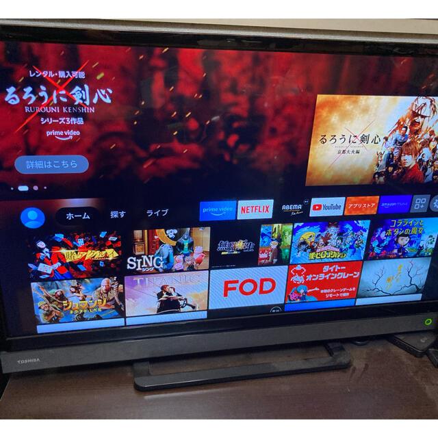 東芝(トウシバ)のmei様専用 TOSHIBA REGZA 32インチ  スマホ/家電/カメラのテレビ/映像機器(テレビ)の商品写真