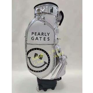 PEARLY GATES - 送料無料キャディバッグゴルフバッグ//PU防水//極美品/32