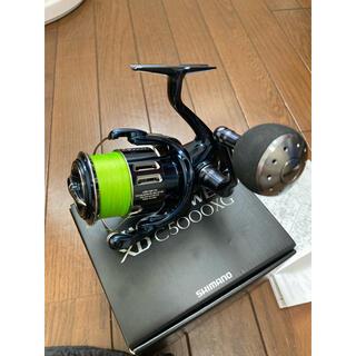 SHIMANO - 中古美品 シマノ スピニングリール 21 ツインパワーXD C5000XG