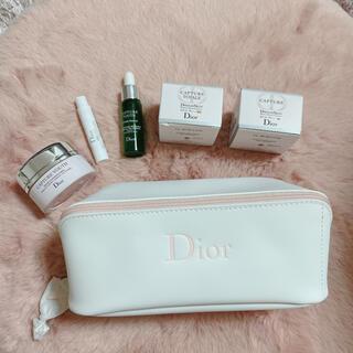 Dior - ディオールポーチとサンプルセット