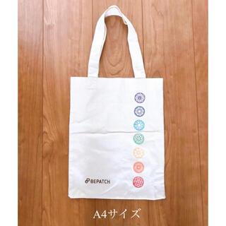 ルルレモン(lululemon)のビパッチノベルティ☆A4サイズエコバッグ ヨガ(トートバッグ)
