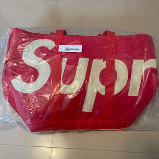 シュプリーム(Supreme)のSupreme Raffia Tote Bag Red(トートバッグ)