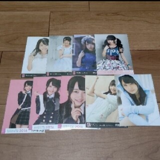 エーケービーフォーティーエイト(AKB48)のAKB48 向井地美音 生写真 セット  3                (アイドルグッズ)