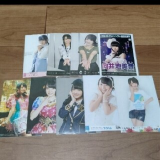 エーケービーフォーティーエイト(AKB48)のAKB48 向井地美音 生写真 セット   5               (アイドルグッズ)
