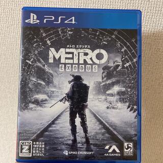 PlayStation4 - メトロ エクソダス PS4
