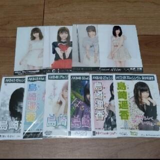 エーケービーフォーティーエイト(AKB48)のAKB48 島崎遥香 生写真 セット  1                 (アイドルグッズ)