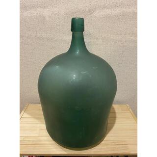 デミジョンボトル ヴィンテージ 瓶 ガラス瓶 イギリス 花瓶 アンティークボトル(花瓶)