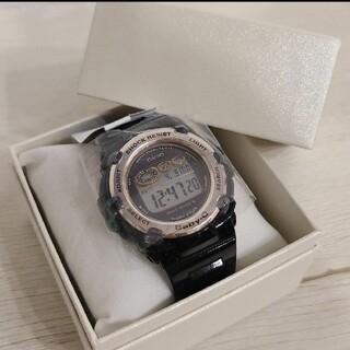 ベビージー(Baby-G)の【新品 未使用】BABY-G ブラック 腕時計(腕時計)