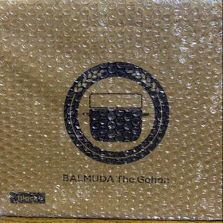 バルミューダ(BALMUDA)のバルミューダ  ゴハン 炊飯器 ブラック 新品未開封(炊飯器)