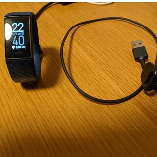 グーグル(Google)のfitbit charge4 Storm Blue(腕時計(デジタル))