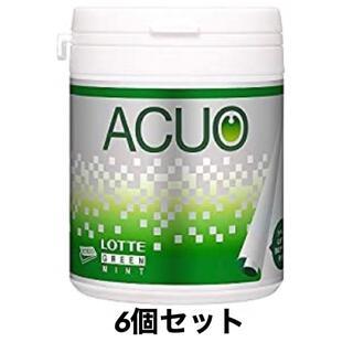 ロッテ ACUO(アクオ) グリーンミント ファミリーボトル 140g×6個入(菓子/デザート)