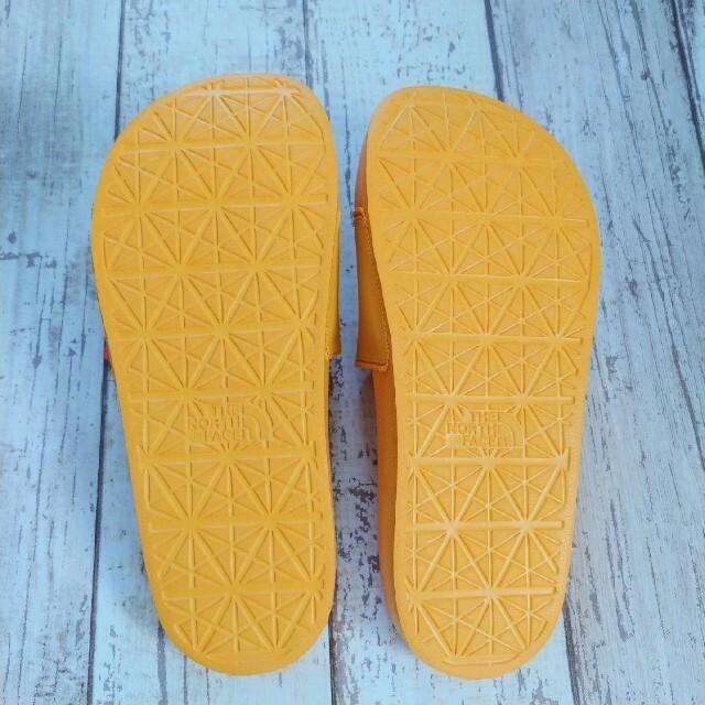 THE NORTH FACE(ザノースフェイス)のTNF メンズ レディース サンダル  黄色 UK8 27cm メンズの靴/シューズ(サンダル)の商品写真