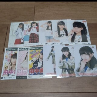 エイチケーティーフォーティーエイト(HKT48)のHKT48田中美久 生写真 セット 2                  (アイドルグッズ)