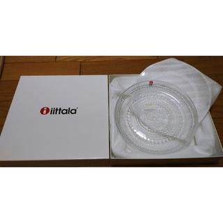 イッタラ(iittala)のイッタラ/カステヘルミ/17cmプレート(クリア)2枚(食器)
