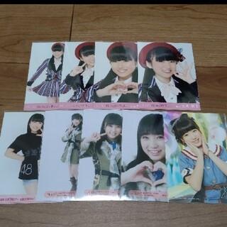 エイチケーティーフォーティーエイト(HKT48)のHKT48矢吹奈子 生写真 セット  3                 (アイドルグッズ)