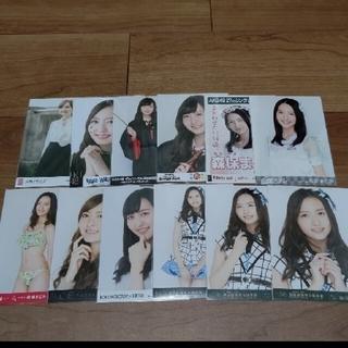 エイチケーティーフォーティーエイト(HKT48)のHKT48森保まどか 生写真 2セット                  (アイドルグッズ)