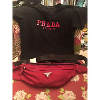 PRADA - PRADA ナイロン ウエストポーチ ボディバッグ プラダ
