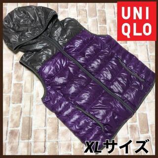 ユニクロ(UNIQLO)のUNIQLO ユニクロ プレミアムダウンベスト XLサイズ  ベスト アウター(ダウンジャケット)