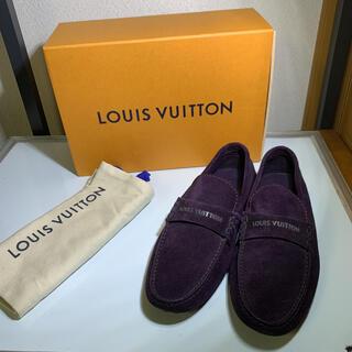 ルイヴィトン(LOUIS VUITTON)の美品 LOUIS VUITTON ルイヴィトン ドライビングシューズ 5 1/2(ドレス/ビジネス)