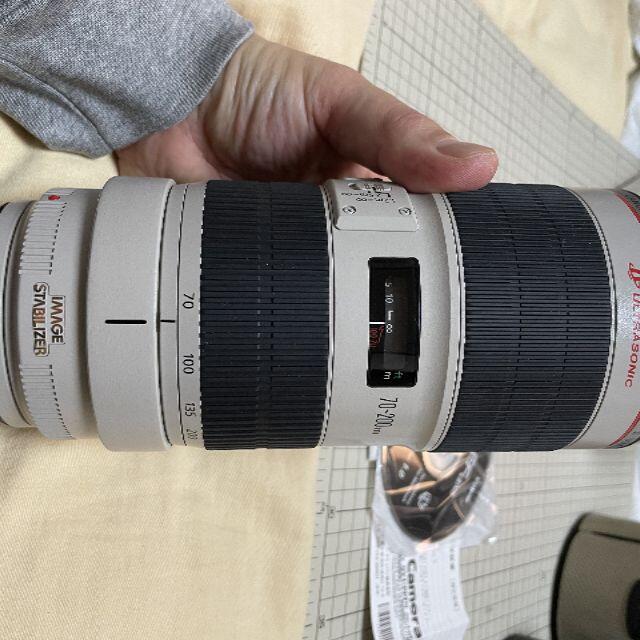 Canon EF70-200mm F2.8L IS II USM スマホ/家電/カメラのカメラ(レンズ(ズーム))の商品写真
