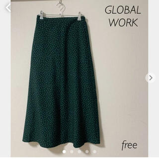 GLOBAL WORK - GLOBAL WORK ロングスカート 花柄