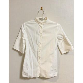 アクネ(ACNE)のACNE 白シャツ(シャツ/ブラウス(半袖/袖なし))