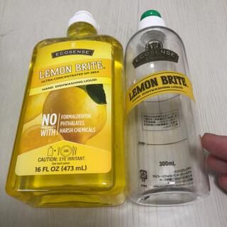 メラルーカ レモンブライト 食器用洗剤 専用ボトル付き(食器/哺乳ビン用洗剤)