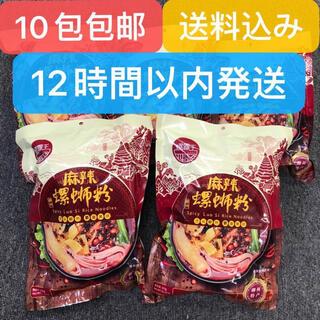螺霸王 螺蛳粉 螺狮粉 加麻加辣 10包 包邮(インスタント食品)