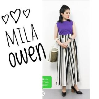 ミラオーウェン(Mila Owen)の【雑誌掲載品】Mila owen バックレースアップ タンクトップ(タンクトップ)