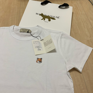 MAISON KITSUNE' - 【国内正規品】メゾンキツネ Tシャツ レディース Sサイズ