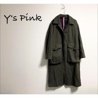 Yohji Yamamoto - Y's Pink TAKESHI KOSAKA コート ヨウジヤマモト 古着