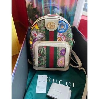 Gucci - オフィディア フローラ GUCCI 花柄 バックパック リュック