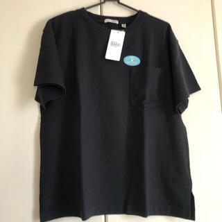 niko and... - ニコアンド  USAコットンビッグポケットTシャツ