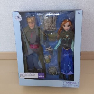 Disney - アナと雪の女王 USディズニー限定品フィギュア アナ クリストフ トロール未開封