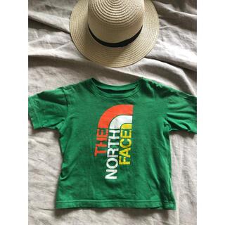 THE NORTH FACE - ノースフェイス ロゴ Tシャツ 100