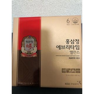 韓国正官庄 6年根高麗紅蔘 エブリタイム バランス 10mlX30包