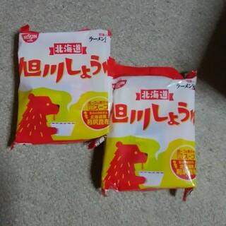 ニッシンショクヒン(日清食品)の日清旭川しょうゆラーメンセット(インスタント食品)