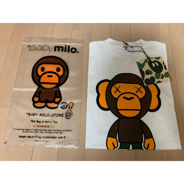 A BATHING APE(アベイシングエイプ)のBAPE × KAWS Tee メンズのトップス(Tシャツ/カットソー(半袖/袖なし))の商品写真