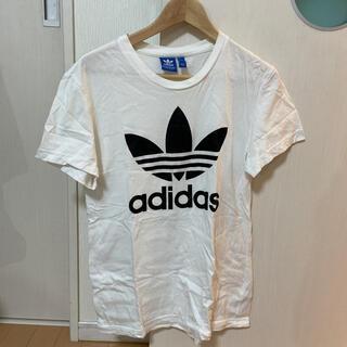 adidas - アディダスオリジナルス Tシャツ 白 ホワイト