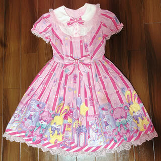 Angelic Pretty - Angelic Pretty Toy doll boxワンピース ピンク 難あり