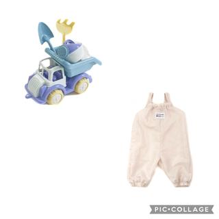 スリーコインズ(3COINS)の砂遊びセット ダンプカー スリーコインズ(知育玩具)