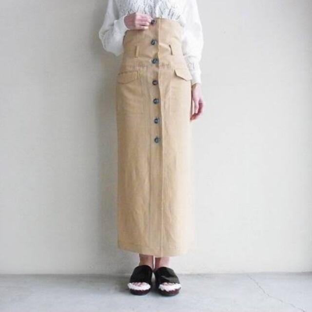 mame(マメ)のMame Kurogouchi マメクロゴウチ スカート 1 レディースのスカート(ロングスカート)の商品写真