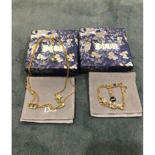 クリスチャンディオール(Christian Dior)のDiorのネックレス、ネックレス 2点セット(ネックレス)