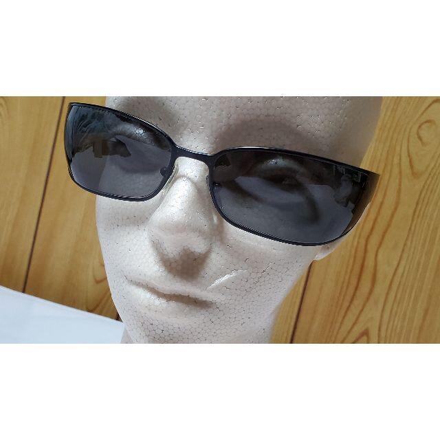 PRADA(プラダ)の正規美レア 浜田省吾着 同型同色 プラダ サングラス 黒 メタルブラック 付属有 メンズのファッション小物(サングラス/メガネ)の商品写真