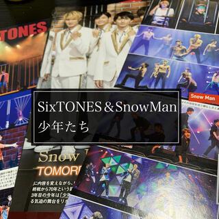 ジャニーズ(Johnny's)のSixTONES SnowMan 少年たち 切り抜き(アート/エンタメ/ホビー)