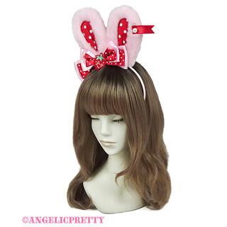 Angelic Pretty - 渋谷限定 Little Strawberryリリカルバニーカチューシャ